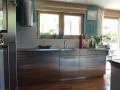Küche in Chromstahl