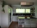Küche weiss belegt