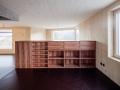 Büchergestell in Apfelbaum, uli mayer, urs hüssy dipl. architekten eth sia