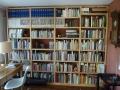 Büchergestell in Esche